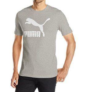 Puma Mens Grey Archive Life T-Shirt M NWT